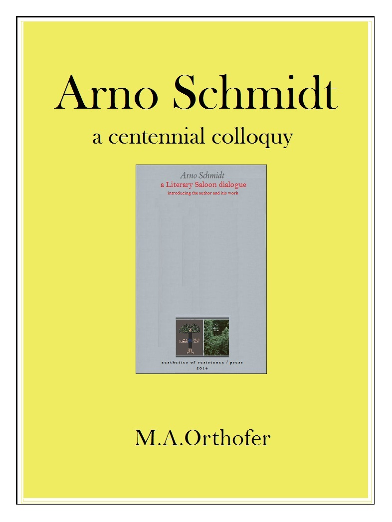 Arno Schmidt: a centennial colloquy at Amazon.com